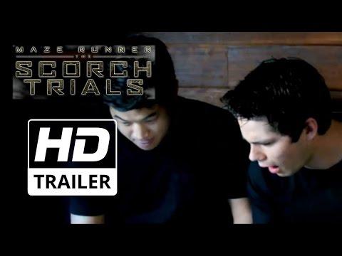 Maze Runner: The Scorch Trials   Reaction feat. Dylan O'Brien & Ki Hong Lee HD  2015