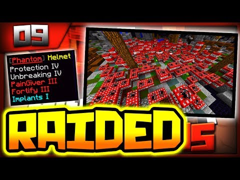 *TW RAIDED* OUR BIGGEST BASE EVER!! - Minecraft Factions Ep. 9 ( TheArchon )
