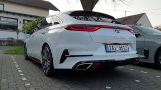2019 Kia Proceed GT 1,6 T-GDI: cold start exhaust sound