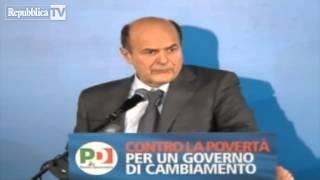 Bersani a Renzi: