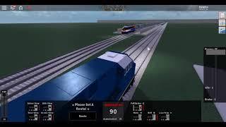 roblox rock n roll run away train