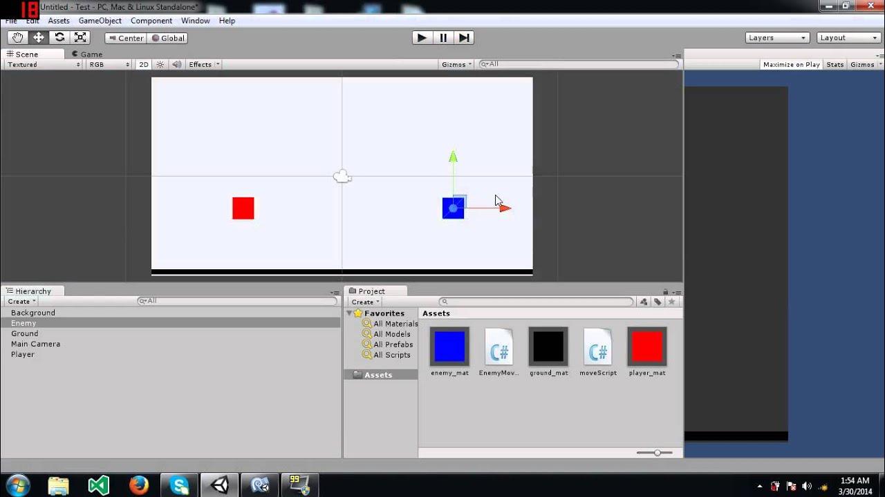 Unity Tutorial: 2D Collision Detection