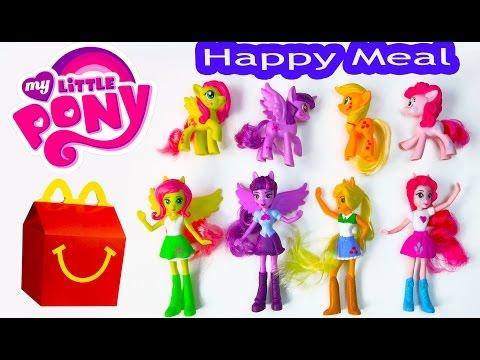 mlp mcdonalds happy meal toys 2015 my little pony equestria girls toys video princess twilight dolls