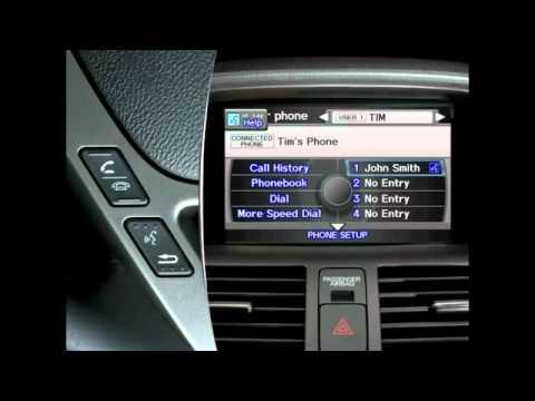 2011 & 2010 Acura MDX Bluetooth Tutorial