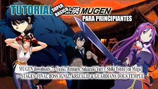 MUGEN downloads 7.- Yuuki, Rentaro, Sakazaki Yuri y Shiki Tohno [en Mega]