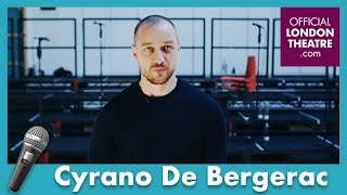 The cast of Cyrano De Bergerac describe the play