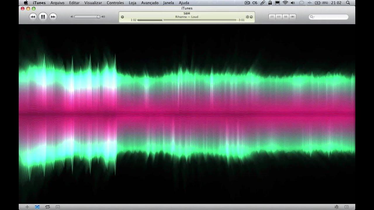 GasLight - iTunes Visualizer demonstration
