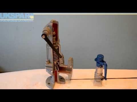 работа регулирующего клапана MOKVELD - YouTube
