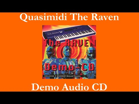 Quasimidi The Raven - Demo-CD - 30 tracks