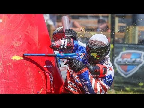 Awesome NXL Pro Paintball Match - Russian Legion vs Infamous and Thunder vs Ironmen