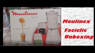 Moulinex Faciclic Unboxing