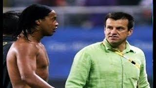 Esse é o Motivo Por Dunga Odiar o Ronaldinho Gaúcho
