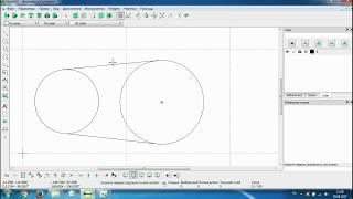 LibreCAD 2-й урок ''Базовые инструменты''