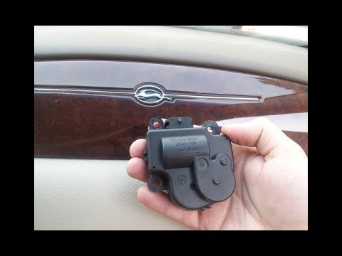 Chevy Blend Door Actuator Replacement -- (2006-2013 Impala) -Clicking noise  / Heat / AC / Fresh Air