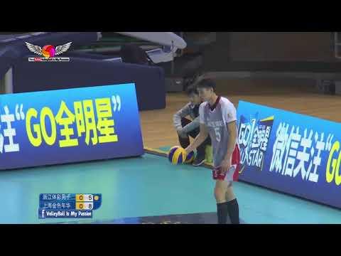 Zhejiang (浙江) VS Shanghai(上海) | 24-12-2017 | Chinese Men's volleyball super league 2017/2018