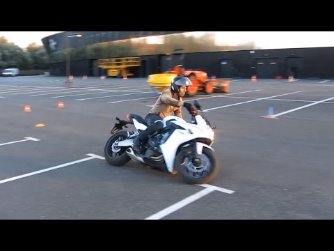 What is Moto Gymkhana for me: training race with a CBR650F