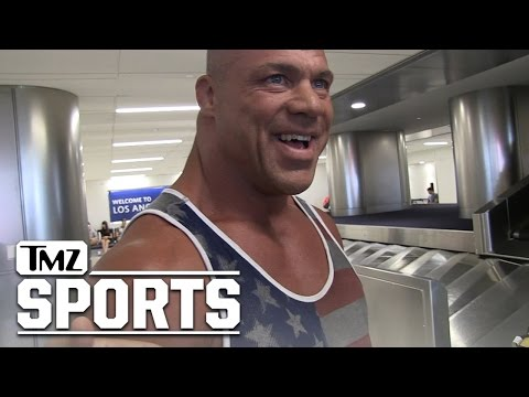 Kurt Angle- WWE Stars Would Get Crushed In 'Real' Wrestling | TMZ Sports