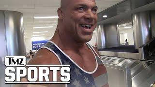 Kurt Angle- WWE Stars Would Get Crushed In 'Real' Wrestling | TMZ Sports