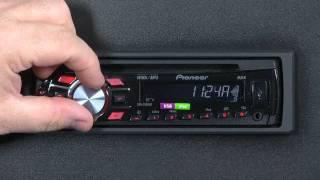 FAQ- DEH-3300UB- Clock Settings