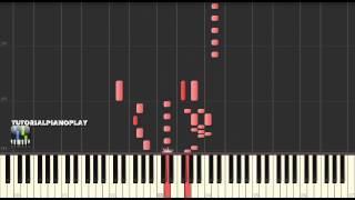 Mozart - Piano Sonata No. 1 in C major, K 279 Mov. III Allegro - Piano Tutorial (100% Speed)