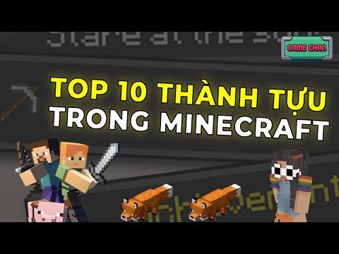 Top 10 Thành Tựu khó đạt được nhất trong Minecraft   Game Chan