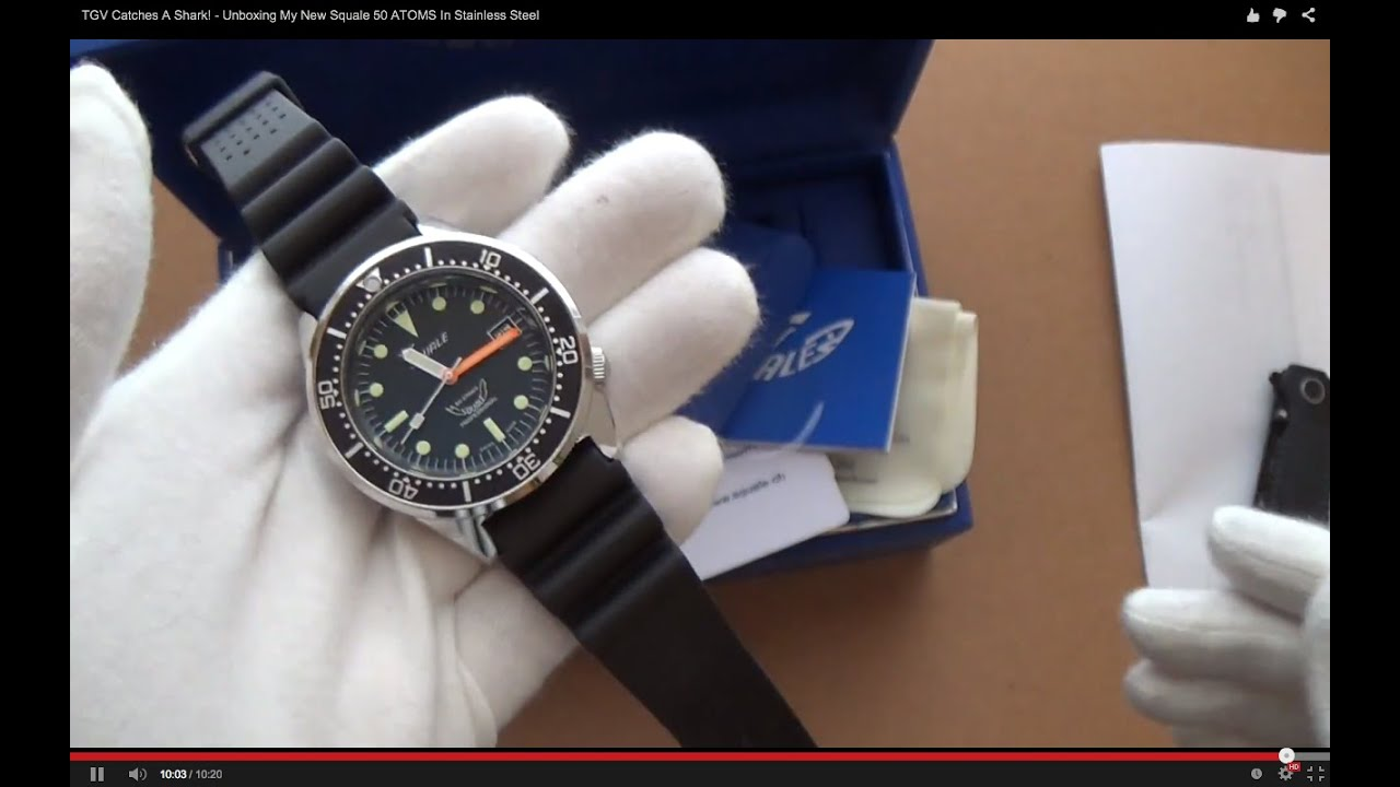 blue and by matt review squale page watches youtube watch cooper atmos super