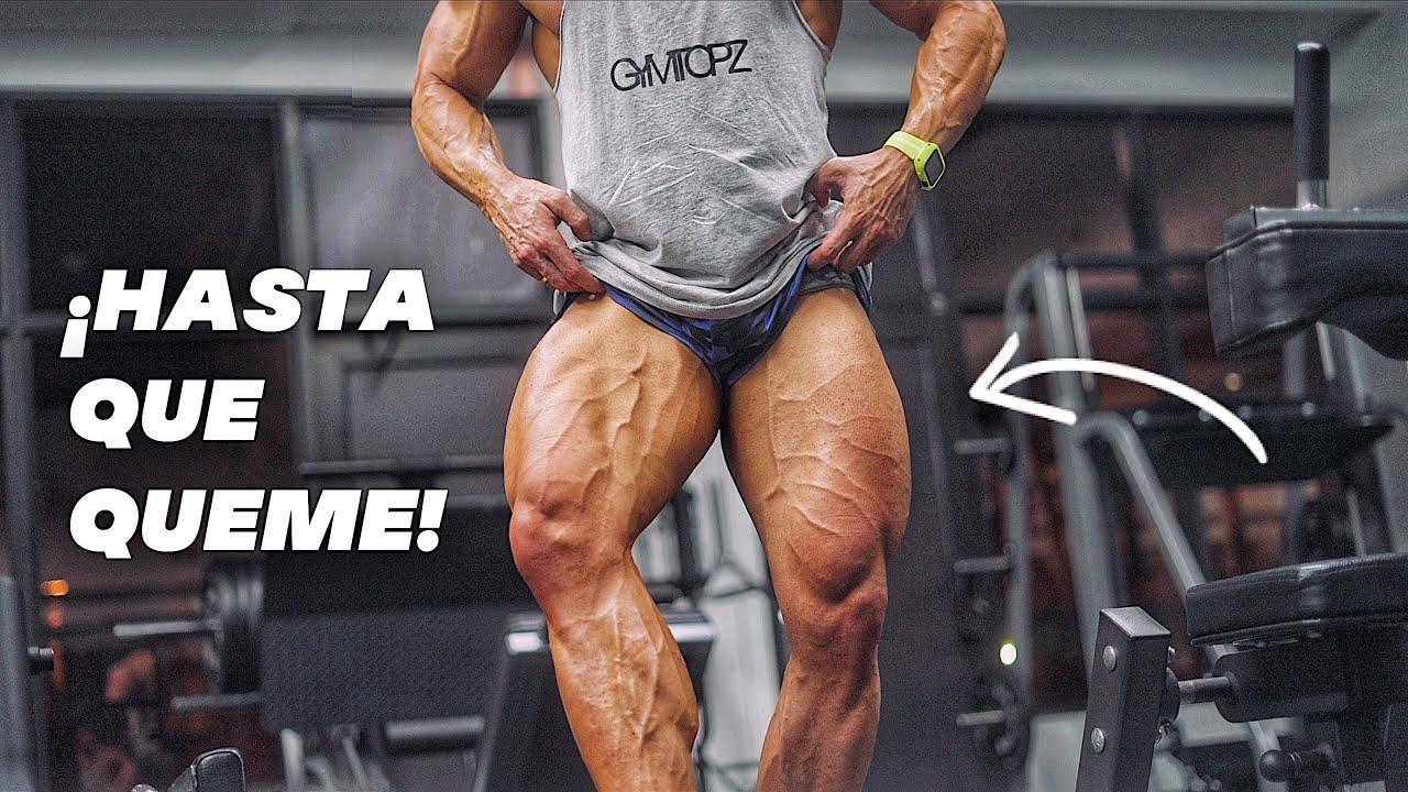 PIERNAS EN CANDELA! - Rutina CLUSTER SETS (miercoles) gym Topz