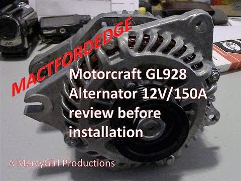 Motorcaft Gl Alternator For A  Ford Edge