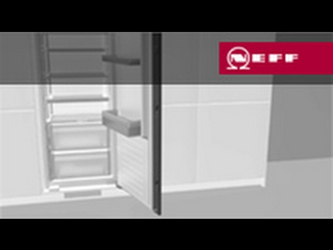 Möbelfrontbefestigung an Gerätetür für geteilte Möbelfronten ...