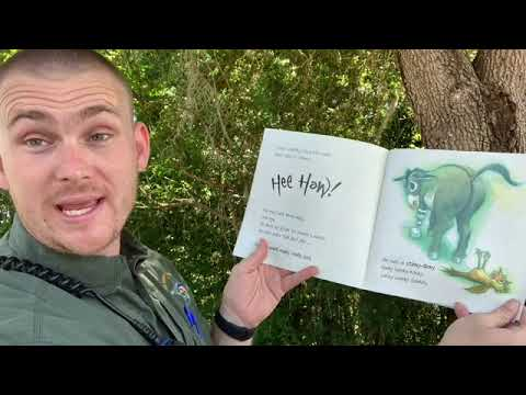 Deputy PJ Reading The Wonky Donkey