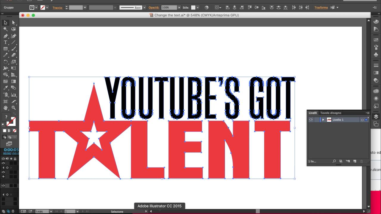 How to create got talent title download youtube.