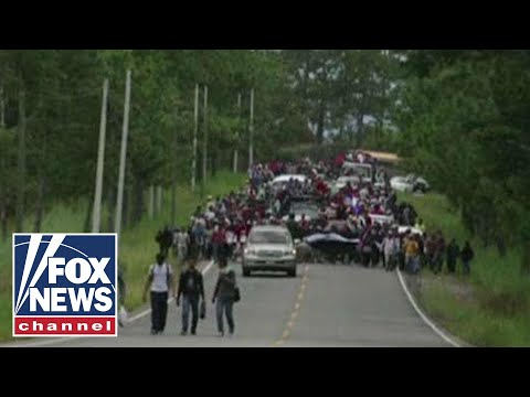 Another migrant caravan headed towards US border