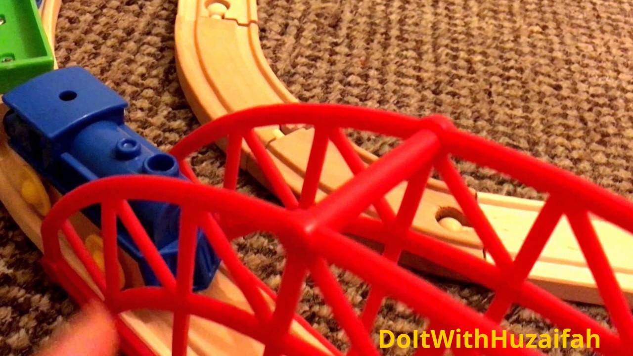 Carousel Wooden Train Set Fun Toy Review By Huzaifah