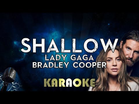 Lady Gaga Bradley Cooper - Shallow Karaoke Instrumental A Star Is Born