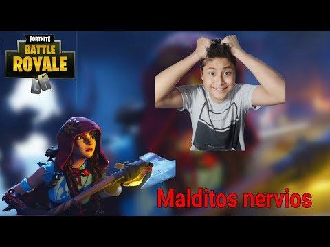 MALDITOS NERVIOS!! Fortnite Battle Royale