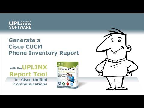 Phone Inventory Tool for Cisco CUCM – Uplinx Software