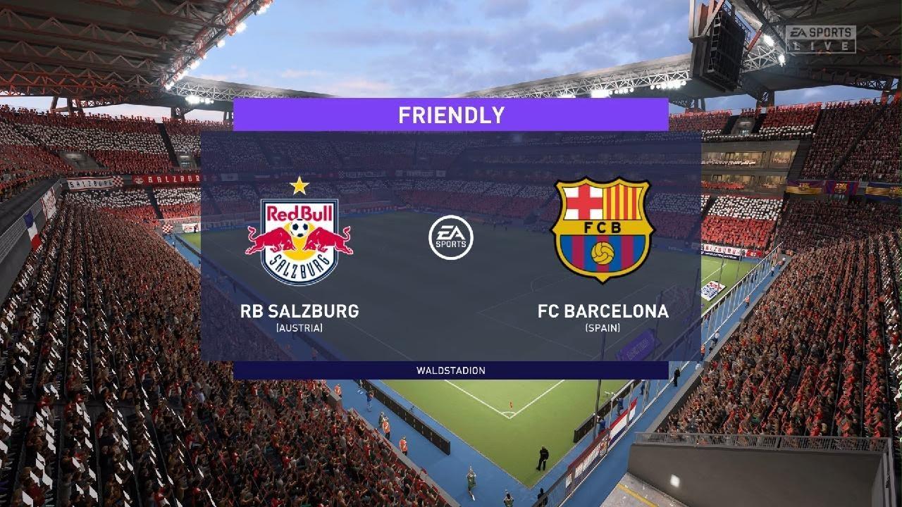 FC Salzburg vs. Barcelona - Football Match Report - August 4, 2021 ...