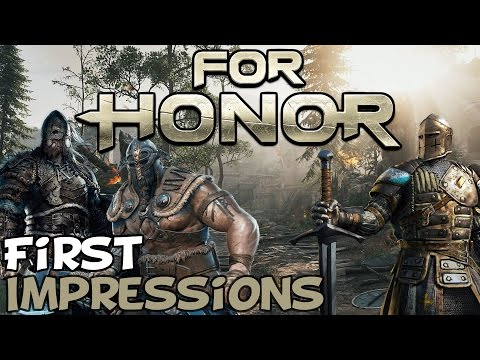 For Honor First Impressions