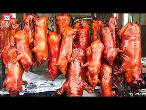 Asian Street Food, Fast Food Street in Asia, Cambodian Street food #241