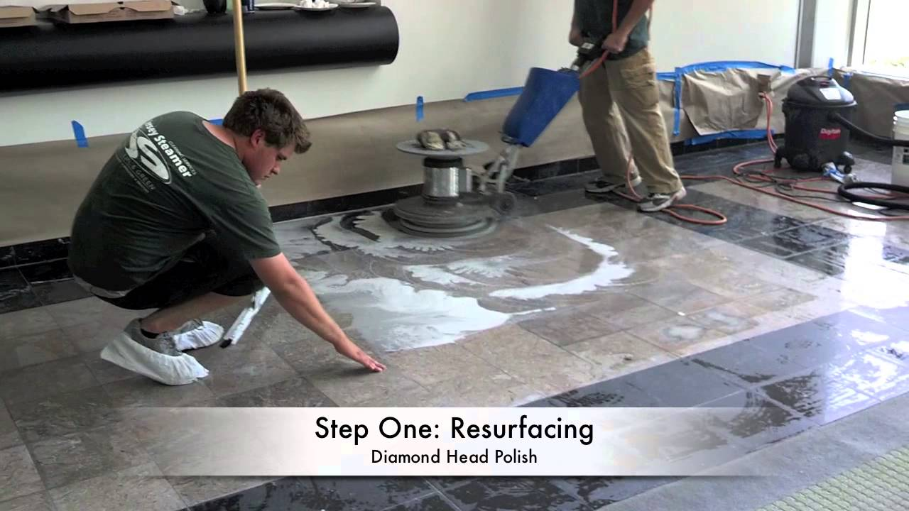Damaged Marble Floor Restoration Trenton Nj And Asbury