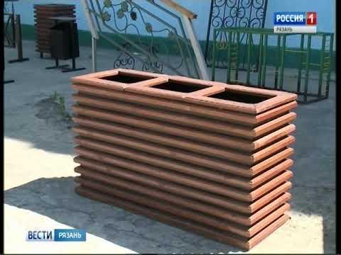 В рязанской исправительной колонии № 2 наладили производство детских игровых площадок