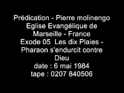 Pierre Molinengo - Exode - 05 - Les dix Plaies - Pharaon s'endurcit contre Dieu