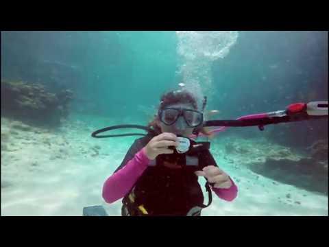 Diving in  Macabuca, Cayman Islands