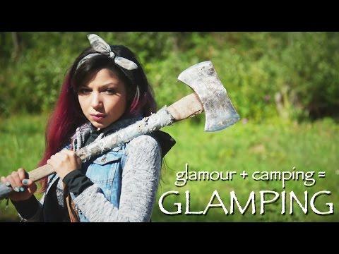 GLAMPING (Glamour + Camping) Makeup!   Charisma Star