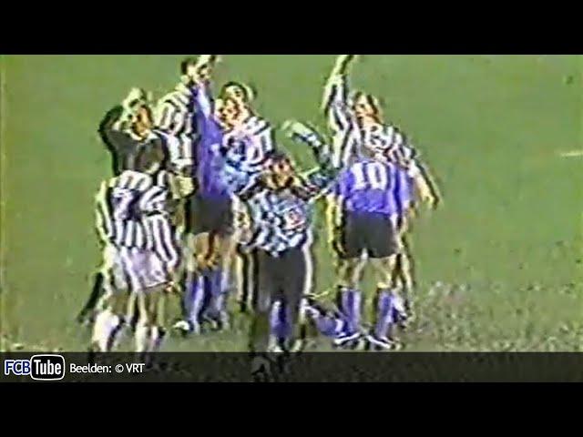1991-1992 - Jupiler Pro League - 23. Eendracht Aalst - Club Brugge 0-1