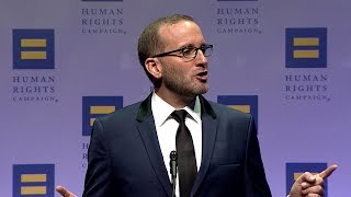 HRC President Chad Griffin at the 2017 HRC National Dinner