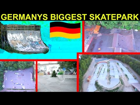 BIGGEST SKATEPARK IN GERMANY!