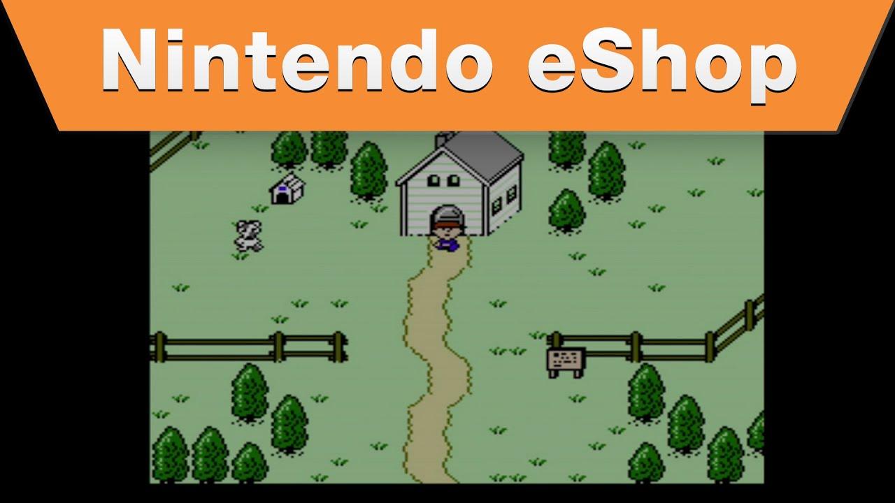 Nintendo eShop - Earthbound Beginnings for the Wii U Virtual Console