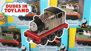 Special Edition Silver Thomas and Friends Take-n-Play