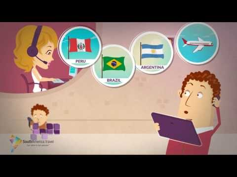 Video describing how our South America Travel Services work